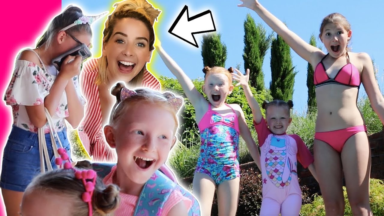 zoella ingham pool party