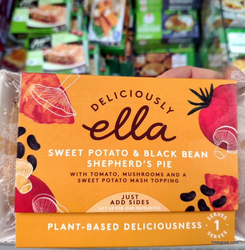 Deliciously Ella frozen ready meal