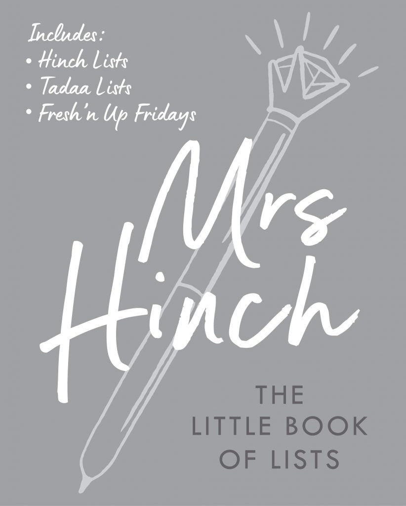 mrs hinch little book of lists