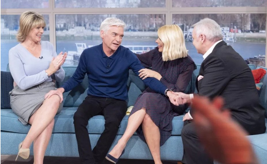 Phillip Schofield this morning coming out