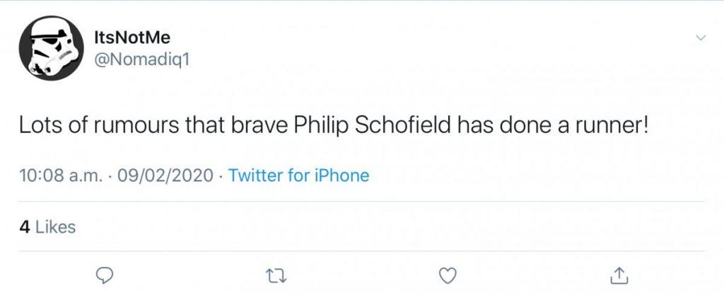 phillip schofield done a runner