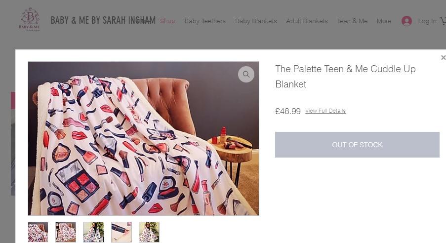 sarah ingham chinese blanket